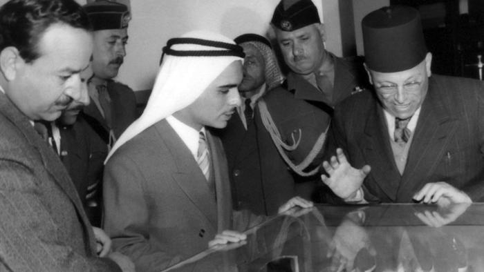 Phophate with King Hussein